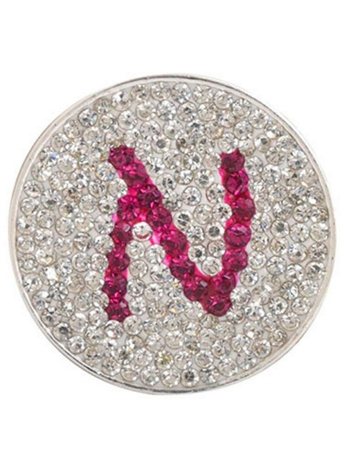 Navika Micro Pave Crystal Initial N Marker