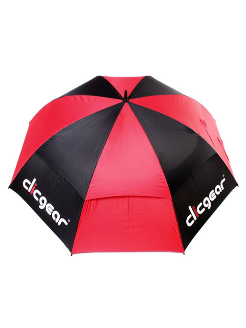 Clicgear Double Canopy 68 Inch Umbrella Black/Red