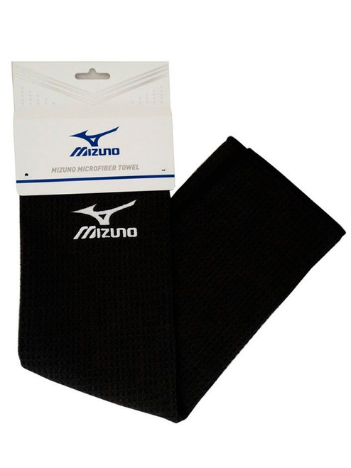 Mizuno Microfiber Small Towel Black