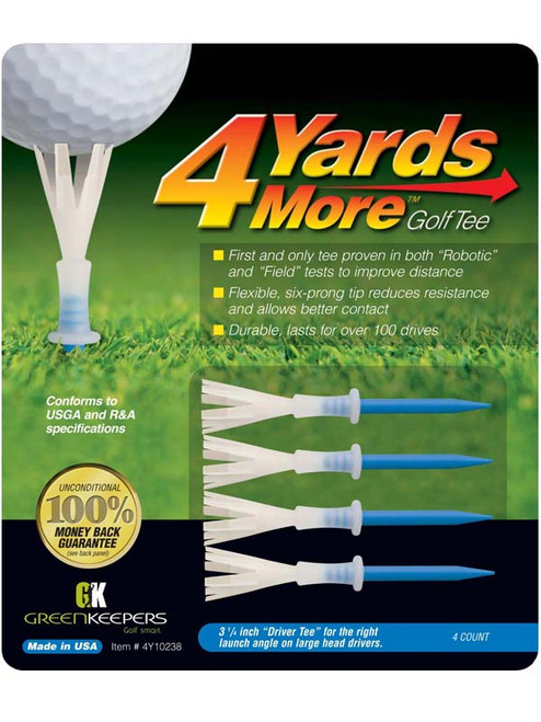 4YARDSMORE Golf Tees 4 Pack 3.25 Inch