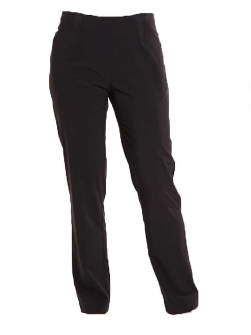 Birdee Golf Techno Slide On Ladies Pant - Black