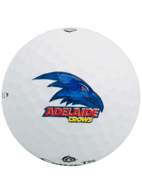 Official AFL Golf Balls - 3 Pack Adelaide Crows