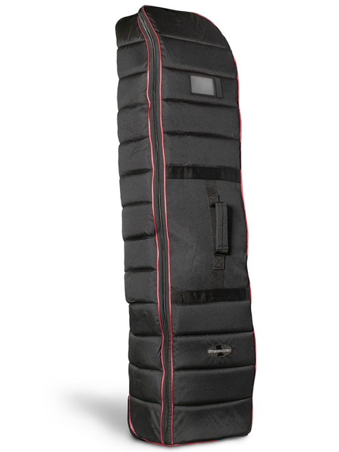 Stonehaven Stand Bag Wheeled Travel Cover - Black/Red