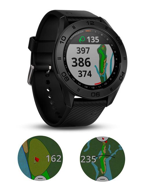 Garmin Approach S60 GPS Watch - Black