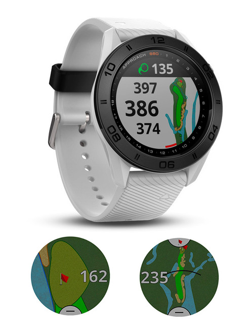 Garmin Approach S60 GPS Watch - White