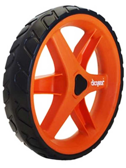 Clicgear 3.5+ Front Wheel Orange