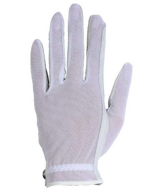 Lady Classic Ladies Solar Tan Glove - White