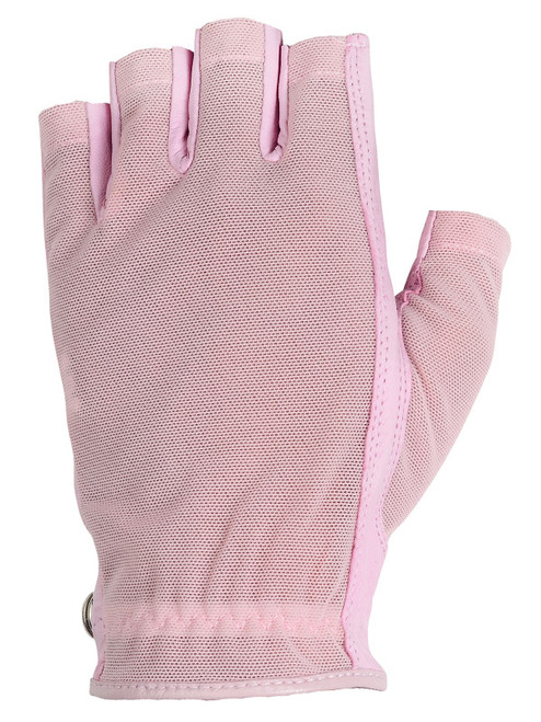 Lady Classic Ladies Solar Half Glove - Pink
