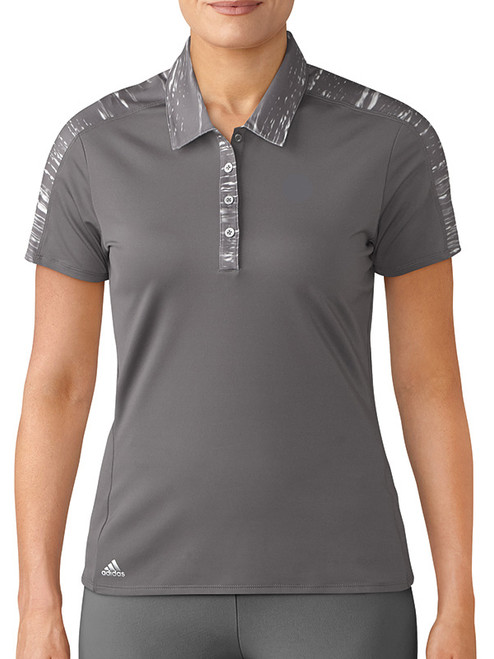 Adidas Ladies Merch Polo - Trace Grey