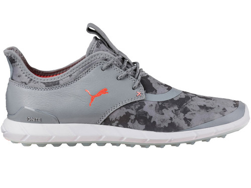 Puma Ladies Ignite Spikeless Sport FL Golf Shoes - Quarry