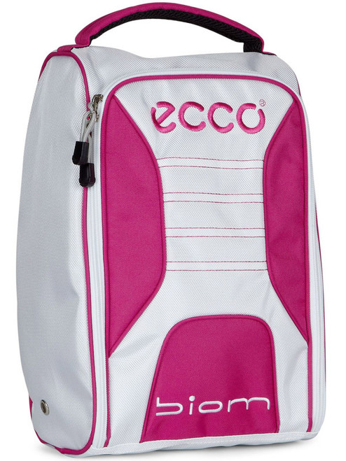 Ecco Golf Shoebag - White/Candy