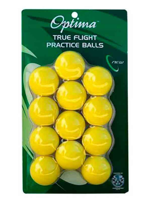 Optima True Flight Practice Balls 12 Pack