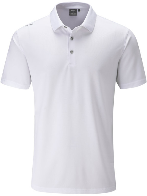 Ping Lincoln Tailored Fit Polo - White