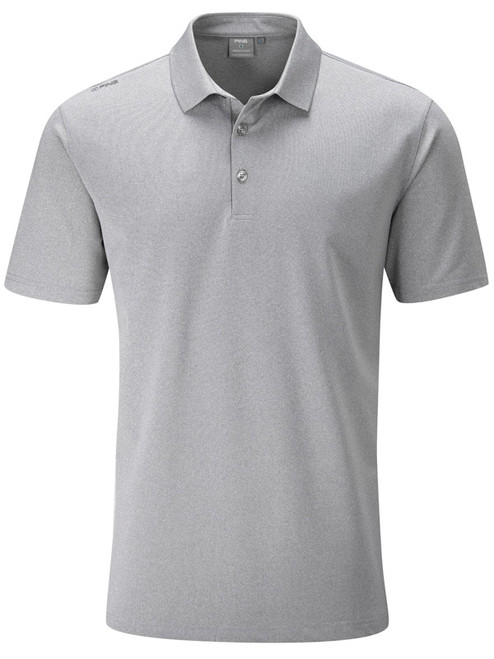 Ping Lincoln Tailored Fit Polo - Silver Marl