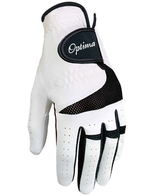 Optima XTD Golf Glove White