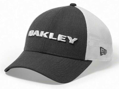Oakley Heather New Era Snapback Cap - Graphite