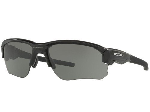 Oakley Flak Draft Sunglasses - Polished Black w/ Grey