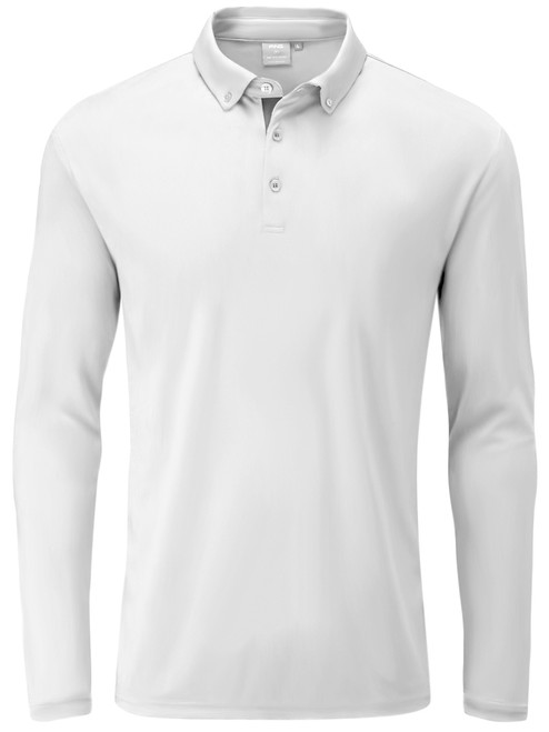 Ping Flynn Tailored Fit Polo - White