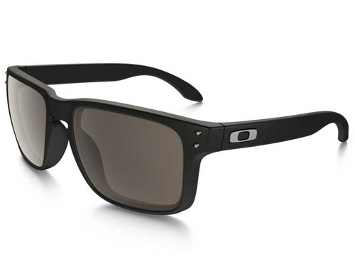 Oakley Holbrook Sunglasses - Matte Black w/ Warm Grey