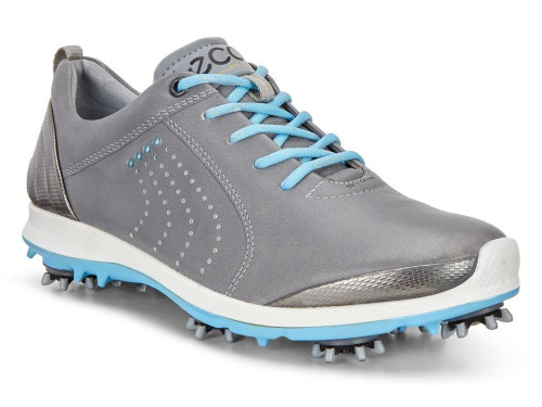 Ecco Ladies Biom G2 Golf Shoes - Wild Dove/Sky Blue