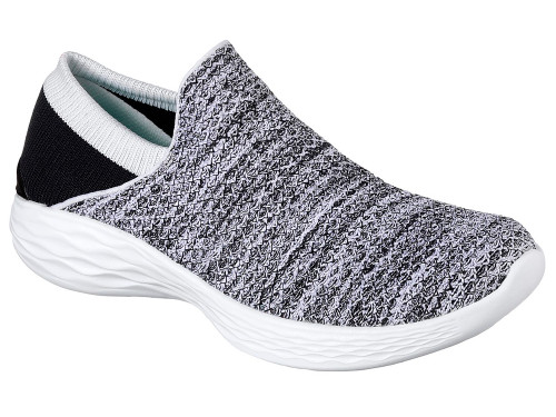 Skechers Ladies You Shoes - White/Black