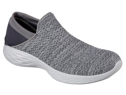 Skechers Ladies You Shoes - Charcoal