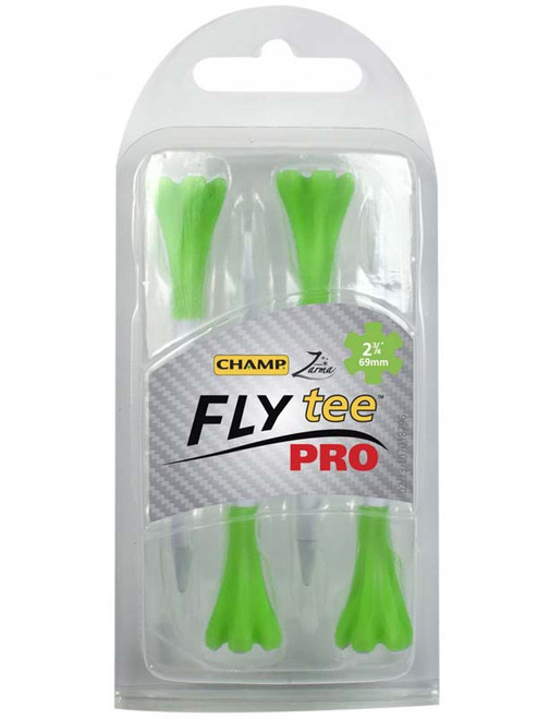 CHAMP FLYtee Pro 4 Pack 2.75 Inches White/Green