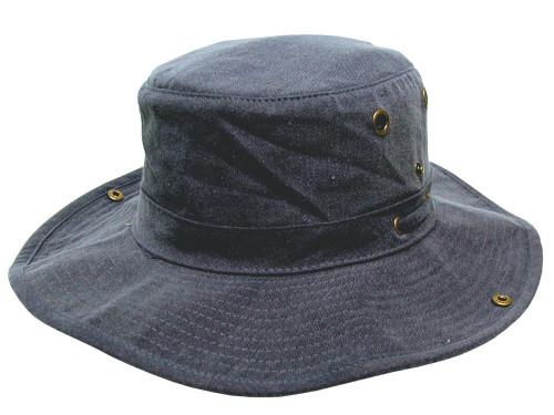Avenel Floatation Wide Brim Hat - Navy