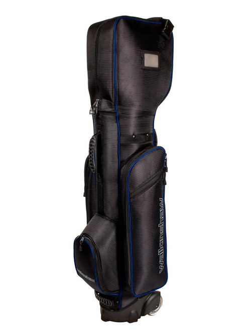 Walkinshaw Wheelie Traveller Bag - Black/Blue