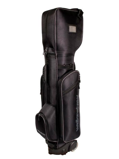 Walkinshaw Wheelie Traveller Bag - Black/Charcoal