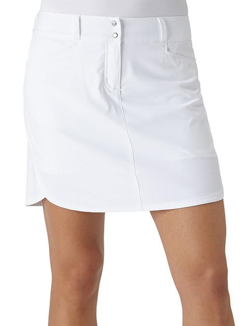 Adidas Essentials 3-Stripe Skort - White