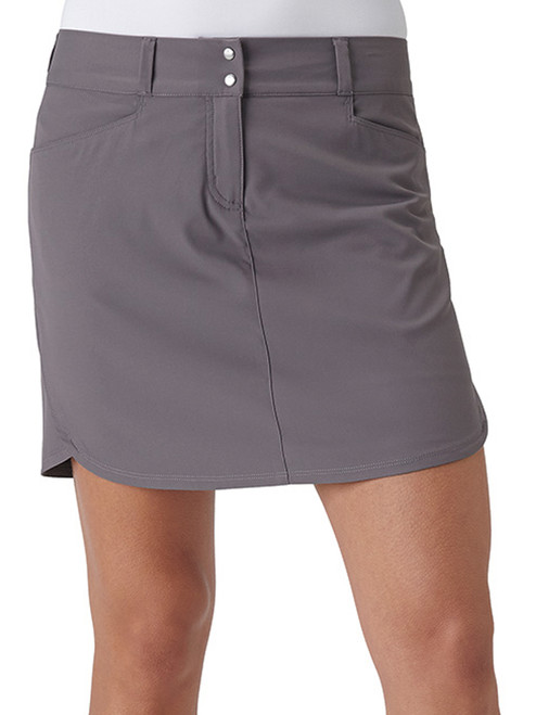 Adidas Essentials 3-Stripe Skort - Trace Grey