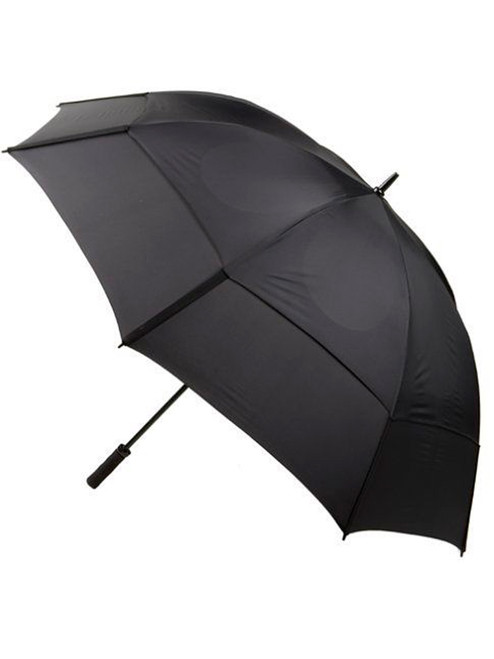 GustBuster Pro Series Gold Umbrella 68 Inch Black