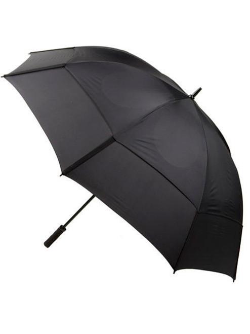GustBuster Pro Series Gold Umbrella 68 Inch Black