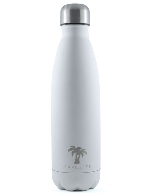Caye Life Bora Bora 500ml Drink Bottle Matte White