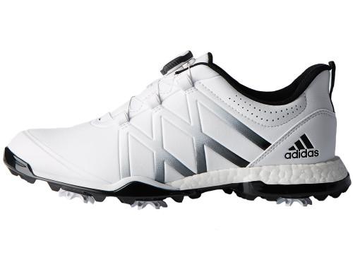 Adidas W Adipower Boost BOA Golf Shoes - White/Black