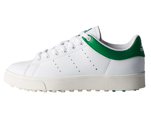 Adidas Junior Adicross Classic Golf Shoes - FTWR White/Green