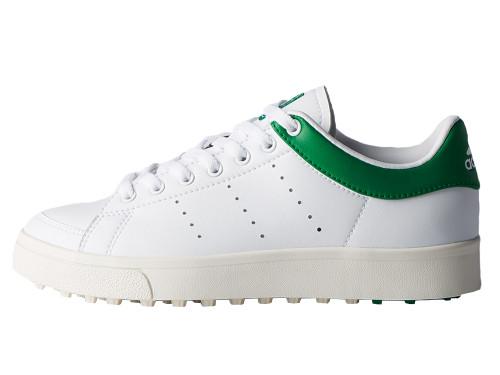 Adidas Junior Adicross Classic Golf Shoes - FTWR White/Green