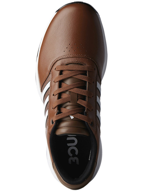 Adidas 360 Bounce Golf Shoes - Tan Brown/FWTR White/Black