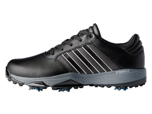 Adidas 360 Bounce Golf Shoes - Black/FWTR White/Dark Sil Met