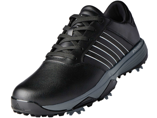 504d5e2a10aa Adidas 360 Bounce Golf Shoes - Black FWTR White Dark Sil Met - Mens ...