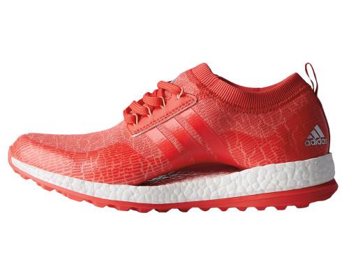 Adidas Ladies Pureboost XG Golf Shoes - Chalk Coral
