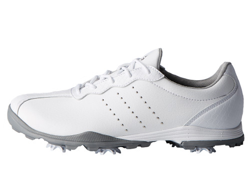 Adidas W Adipure DC Golf Shoes - FTWR White/Silver Met.