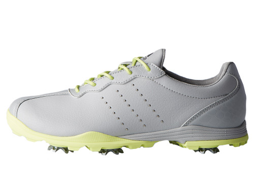 Adidas W Adipure DC Golf Shoes - Grey One/Frozen Yellow