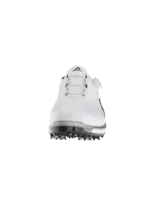 Adidas Tour360 Boost EQT BOA Golf Shoes - White/Silver/Black