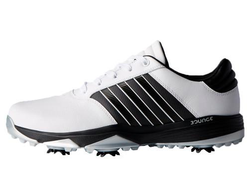 Adidas 360 Bounce Golf Shoes - FWTR White/Black/Matte Silver
