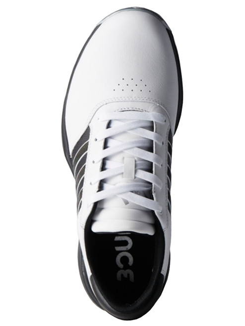 huge discount fb4c2 7a192 ... Adidas 360 Bounce Golf Shoes - FWTR WhiteBlackMatte Silver ...