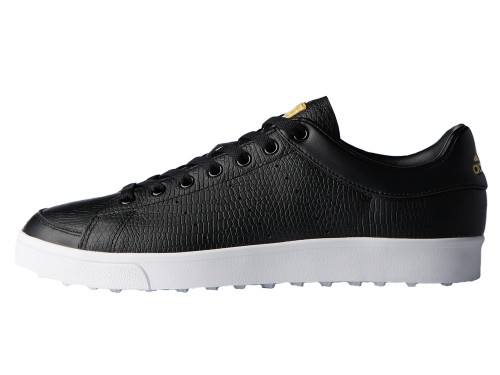 Adidas Adicross Classic Golf Shoes - Core Black/FTWR White