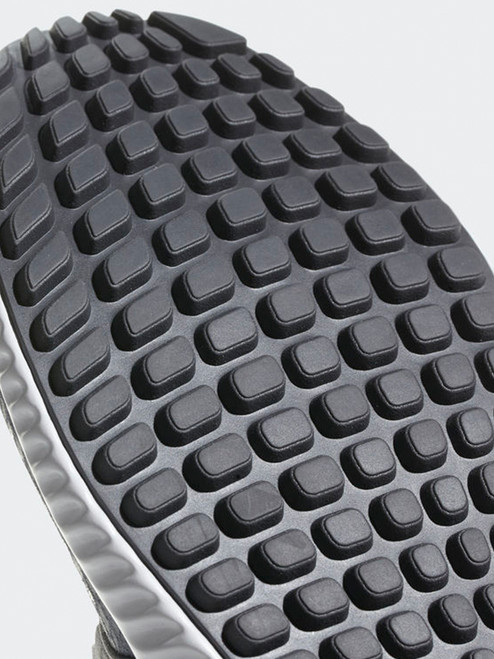 Adidas Adicross Bounce Leather Golf Shoes - Grey/FTWR White