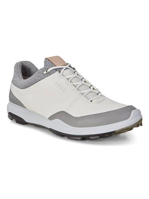 Ecco Biom Hybrid 3 Golf Shoes - White/Black